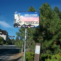 Photo taken at Welcome To Nevada! by Isaac W. on 5/27/2014