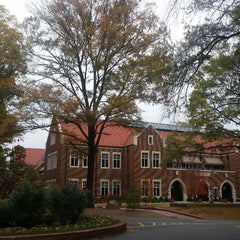 Photo taken at Hendrix College by Fernando Q. on 11/11/2014