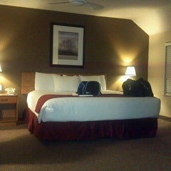 Photo taken at Chase Suite Hotel by Kris L. on 4/1/2013