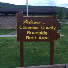 Photo taken at Columbia County Roadside Rest Area (Westbound) by Saurav on 8/16/2014