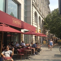 Photo taken at Café Einstein by Martin M. on 7/26/2013