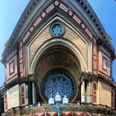 Photo taken at Alexandra Palace by Andrew J. on 7/6/2013