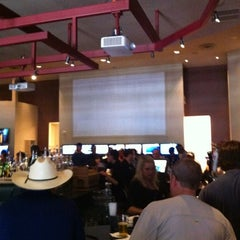 Photo taken at Bar & Book at Lone Star Park by Chris G. on 4/21/2012