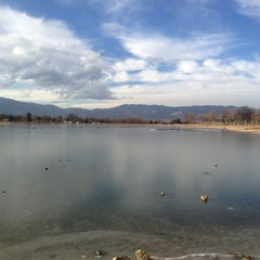 Photo taken at Prospect Lake by Tanya on 12/14/2012