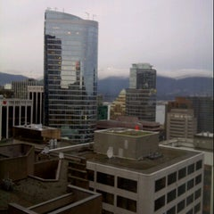 Photo taken at Four Seasons Hotel Vancouver by Jeremy W. on 12/8/2012