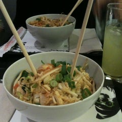 Photo taken at Wok A Way by Lisa V. on 10/18/2012
