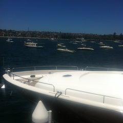 Photo taken at Royal Motor Yacht Club by Ivan K. on 12/14/2012
