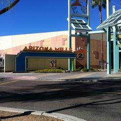 Photo taken at Arizona Mills by Deborah G. on 10/16/2012