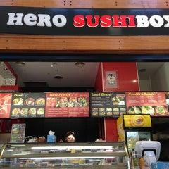 Photo taken at Hero Sushi Box by Kris A. on 5/19/2013