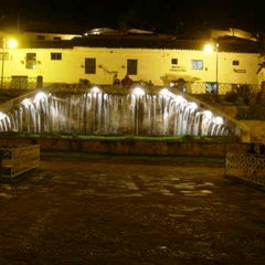Photo taken at Plaza de San Blas by Veli A. on 11/17/2012