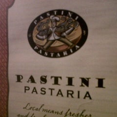 Photo taken at Pastini Pastaria by Berta L. on 11/2/2012