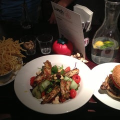 Photo taken at Gourmet Burger Kitchen by Will T. on 11/6/2012