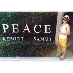 Photo taken at Peace Resort Samui by mintisvery on 4/9/2015
