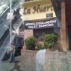 Photo taken at Restaurant La Huerta by carmen a. on 10/10/2012