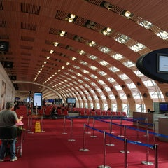 Photo taken at Aéroport Paris-Charles de Gaulle (CDG) by Роман П. on 11/6/2013