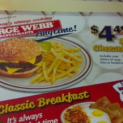 Photo taken at George Webb Restaurants by Eric D. on 10/3/2012