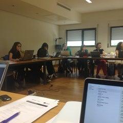 Photo taken at Instituto de Ciências Sociais - Universidade de Lisboa by Janna on 9/15/2014