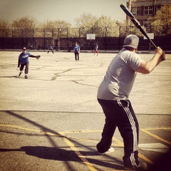 Photo taken at McCarren Park by Stefano S. on 4/28/2013