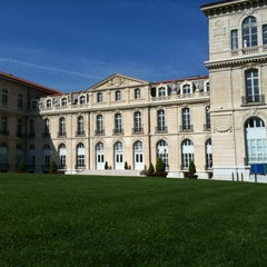 Photo taken at Palais du Pharo by Jean-louis B. on 10/6/2012