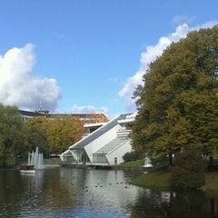 Photo taken at Kronvalda parks by Ulvis P. on 10/12/2012
