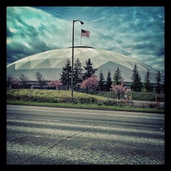 Photo taken at Tacoma Dome by @djskee on 4/20/2013