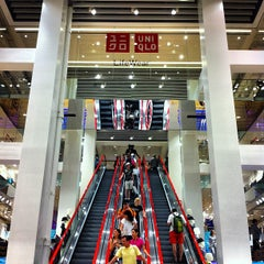 Photo taken at UNIQLO 5th Ave by Mark N. on 7/28/2013