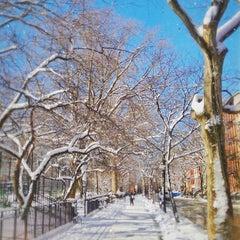 Photo taken at Tompkins Square Park by Erik V. on 2/10/2013