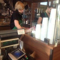 Photo taken at Starbucks by Josh v. on 3/12/2014