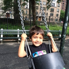 Photo taken at Rudin Family Playground by Vikram S. on 7/20/2014