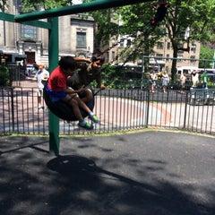 Photo taken at Rudin Family Playground by Vikram S. on 6/14/2014