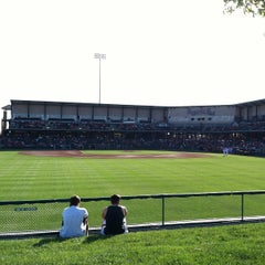 Photo taken at Hawks Field at Haymarket Park by Rob E. on 5/17/2013