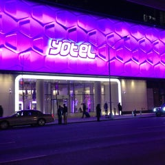 Photo taken at YOTEL New York by Kyle M. on 11/29/2012