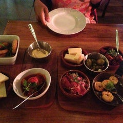 Photo taken at Meatmarket Grill & Tapas by Bastian H. on 9/4/2014