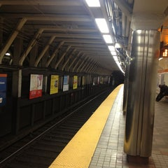 Photo taken at MBTA Downtown Crossing Station by Josh P. on 5/25/2013