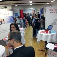Photo taken at FH Oberösterreich - Fakultät für Informatik, Kommunikation und Medien by Gintarė U. on 10/24/2012