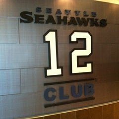 Photo taken at Seattle Seahawks 12 Club by Wade H. on 9/30/2012