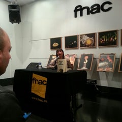 Photo taken at Fnac by Natalia E. on 11/28/2012