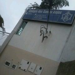 Photo taken at Colégio Santos Anjos by Larissa D. on 9/15/2012