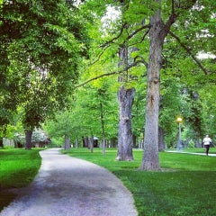 Photo taken at Cheesman Park by Casey D. on 6/4/2013
