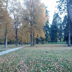 Photo taken at Cheesman Park by Casey D. on 10/20/2012
