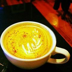 Photo taken at Bauhaus Kaffee by Bruce M. on 1/30/2013