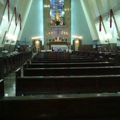 Photo taken at Igreja Nossa Senhora de Fátima e São Jorge by jean a. on 4/21/2013