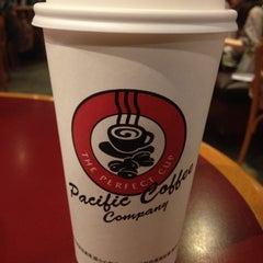 Photo taken at Pacific Coffee 太平洋咖啡 by Joyce W. on 12/9/2012