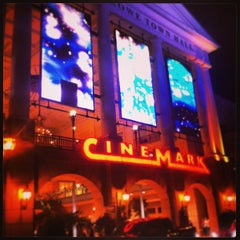 Photo taken at Cinemark Perkins Rowe and XD by Gabriel H. on 12/31/2012