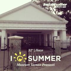 Photo taken at Museum Taman Prasasti by Rio N. on 10/23/2015