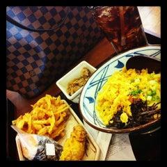 Photo taken at Marugame Seimen (มารุกาเมะ เซเมง) 丸亀製麺 by Trinpatsawee T. on 11/1/2012