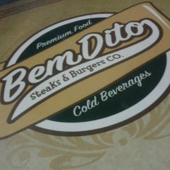 Photo taken at BemDito Steaks & Burgers by Vinícius M. on 9/15/2012