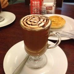 Photo taken at Fran's Café by Fernanda M. on 12/27/2012