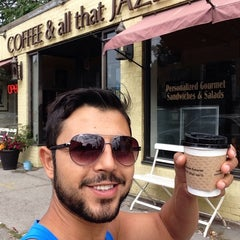 Photo taken at Coffee and All That Jazz by Mert Halis G. on 8/29/2014