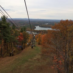 Photo taken at Wachusett Mountain State Park by Gellica Grace A. on 10/19/2013